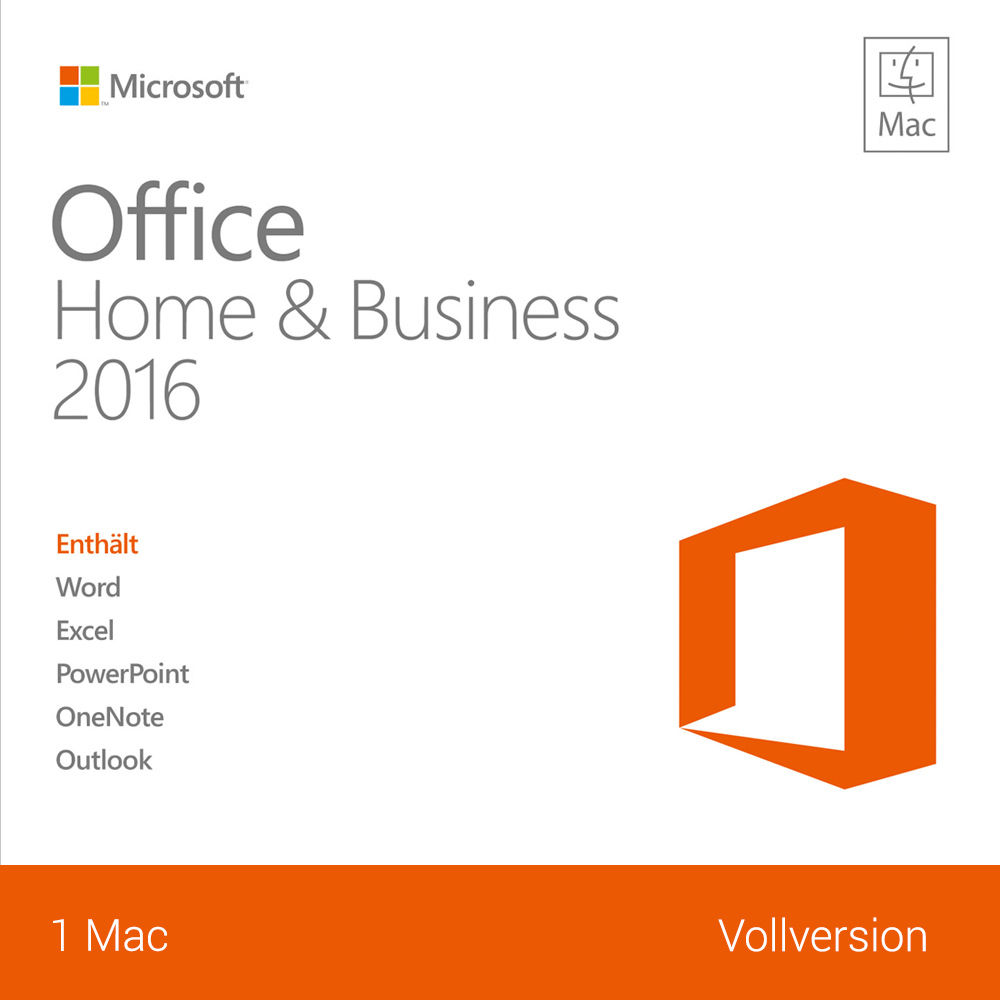 microsoft office home business 2016 mac vollversion deutsch esd key ebay. Black Bedroom Furniture Sets. Home Design Ideas